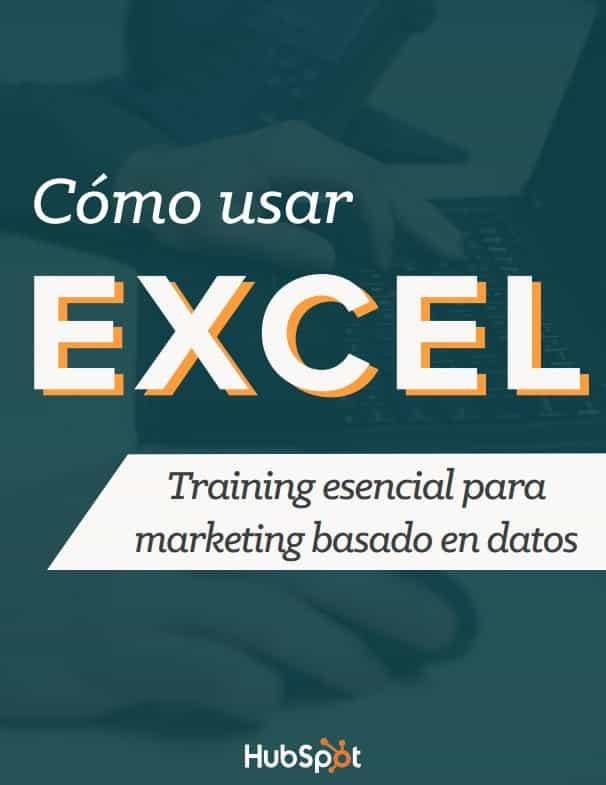 Márketing basado en datos con Excel – Descargar PDF
